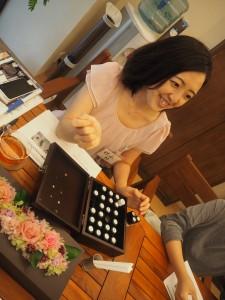 秋山先生にオーガニックライフ入門講座をミニセミナーでおはなししていただきました